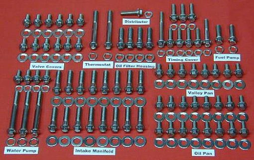 International V-8 Grade 8 Stainless ARP Engine Kit