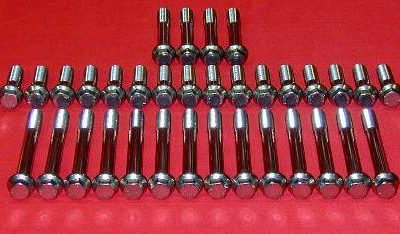 SBC Grade 8 Stainless ARP Head Bolt Kit Full Set