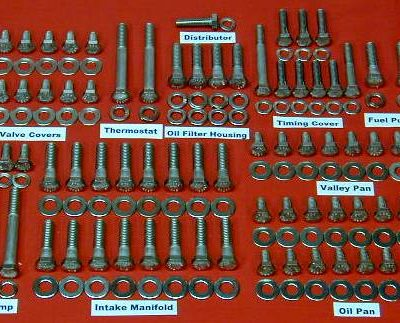 263 Pc International V-8 Stainless Hex Engine Bolt Kit
