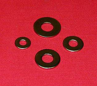 3/8 Stainless MS814 Flat Washer