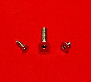 3/8-16 x 2 1/2 Socket Flat Head