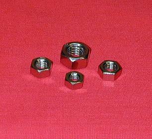 8 x 1.25 Full Hex Nut