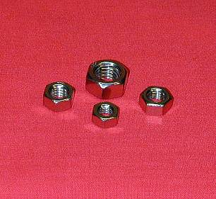 8 x 1.25 A4-80 Full Hex Nut