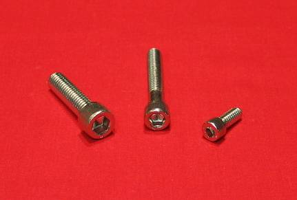 FORD 351 WINDSOR 351W SBF STAINLESS STEEL ENGINE ALLEN BOLT KIT (Pass)