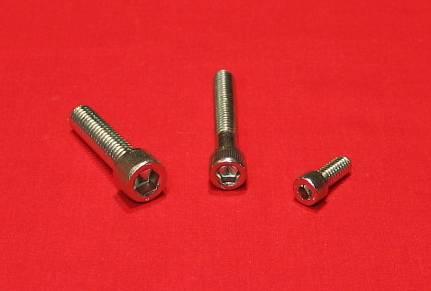 193 Pc Chevy 4.3 Liter Stainless Steel Allen Bolt Engine Kit