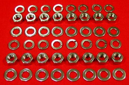 Polished Stainless Banshee Wheel Nuts