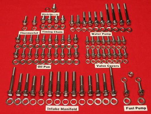 Ford 351C Grade 8 Stainless ARP Engine Bolt Kit