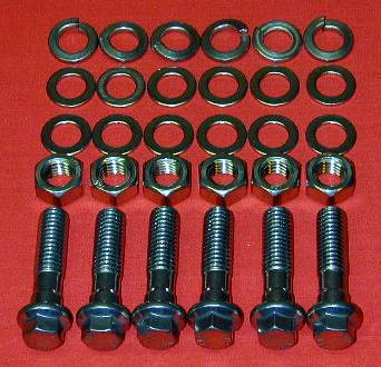 SB Mopar Grade 8 Stainless ARP Engine Mount Kit