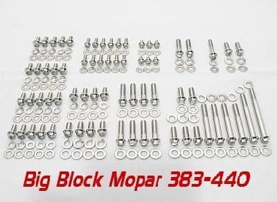 Big Block Mopar Grade 8 Stainless ARP Engine Bolt Kit
