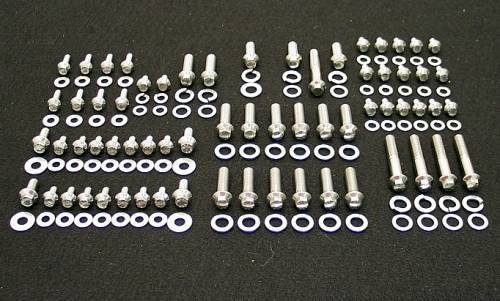 SBC Grade 8 Stainless ARP Engine Bolt Kit
