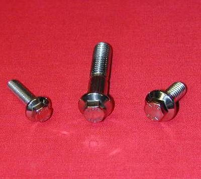 Chevy 194 230 250 292 Stainless Steel Engine Hex Bolt Kit | | Alloy