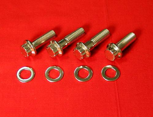 Honda TRX 250R Foot Peg Bolt Kit