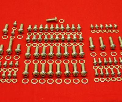 208 Pc Chevy 348-409 Polished Button Head Engine Kit