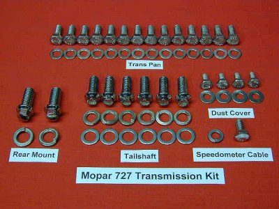 727 Torqueflight Trans Hex Bolt Kit