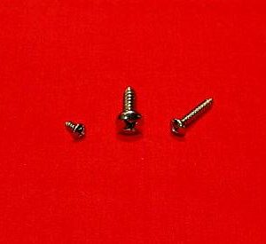 #8 x 1 Pan Head SM Screw