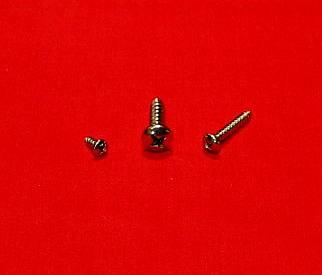#8 x 1 1/2 Pan Head SM Screw