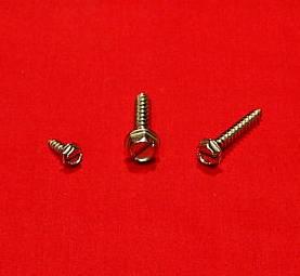 #8 x 1 1/4 Hex Head SM Screw