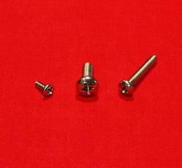 8-32 x 3/4 Pan Machine Screw