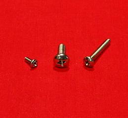 8-32 x 3/8 Pan Machine Screw