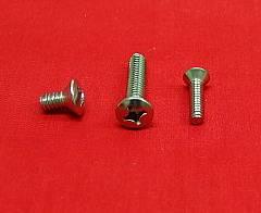 10-24 x 1 Oval Machine Screw