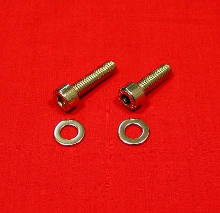 Polished Stainless Banshee Shifter/Kick Starteer Bolt Kit