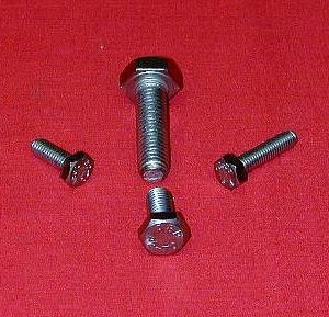6 x 1 x 100 Hex Head Bolt