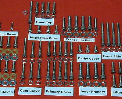 1991-98 FLT-FXR EVO Polished Stainless Allen Bolt Kit