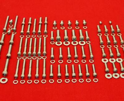 1987-1999 Softail Show Polished Stainless Allen Bolt Kit