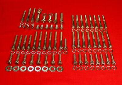 1991-2003 Sportster Show Polished Allen Bolt Engine Kit