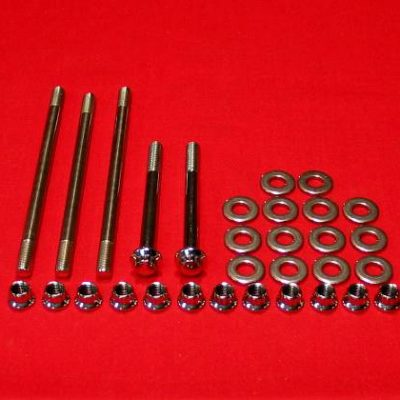 1982-95 Big Twin Evo Show Polished Case Bolt Kit