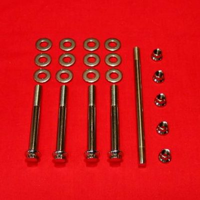 1996-99 Big Twin Show Polished Case Bolt Kit