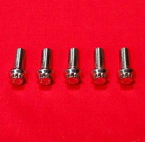 1981 & Up Grade 8 Stainless Rear Rotor Bolt Kit
