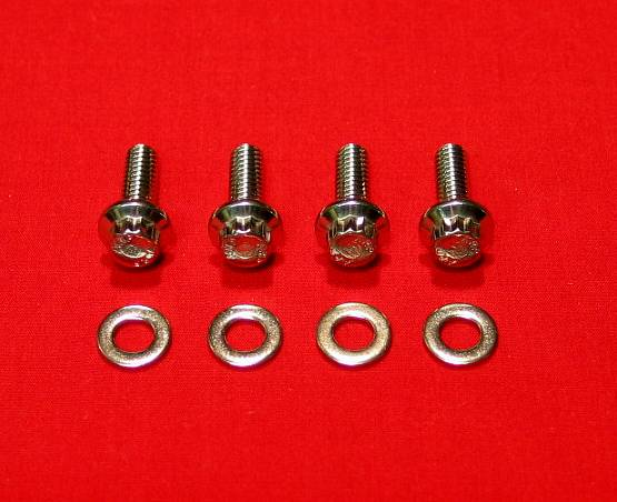 1996-2003 Show Polished Harley Switches & Levers ARP 12 pt. Bolt