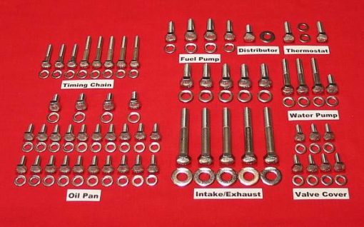 Ford 4.0L V-6 Stainless Steel Hex Engine Kit
