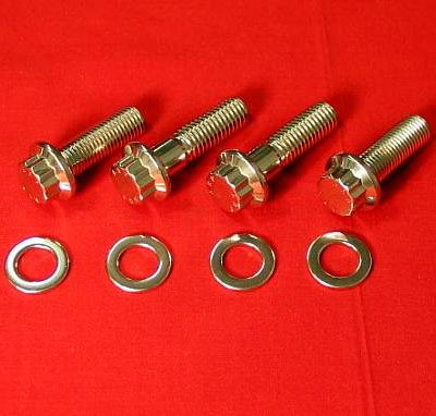 Honda 400EX Foot Peg Bolt Kit