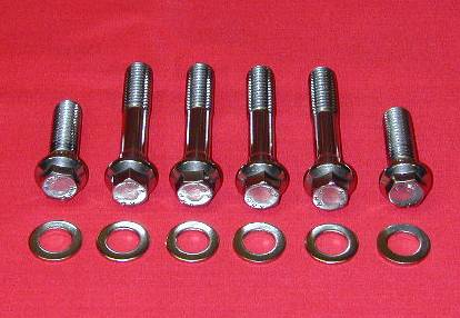 Ford 351-400M Grade 8 Stainless ARP Bellhousing Kit