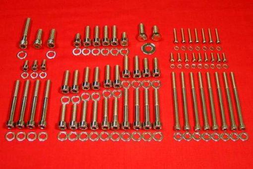 3.8L L26, L36 3800 Series II & III Polished Upper Engine Hex Kit