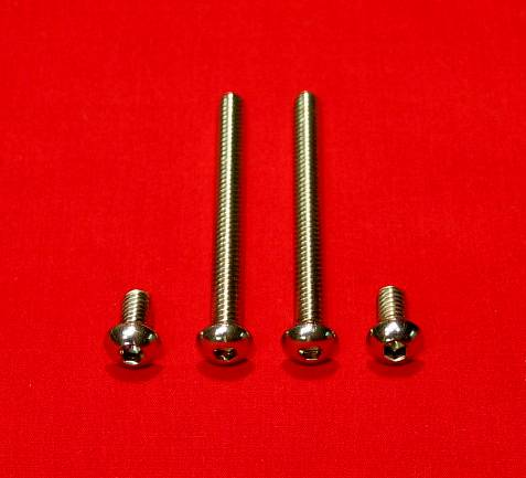 2004 & Up Sportster Show Polished Stainless Buttonhead Rear Fender Support Bolt Kit