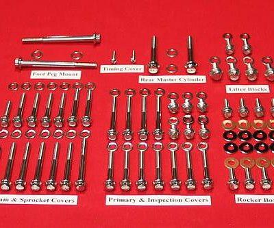 1991-2003 Sportster Polished Grade 8 Kit