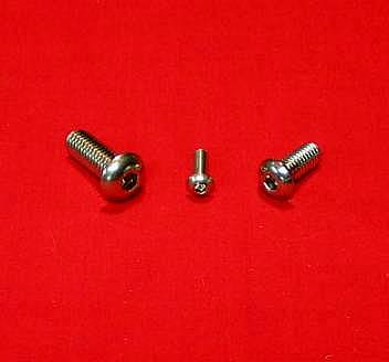 VW Polished Buttonhead Bolt Engine Tin Kit