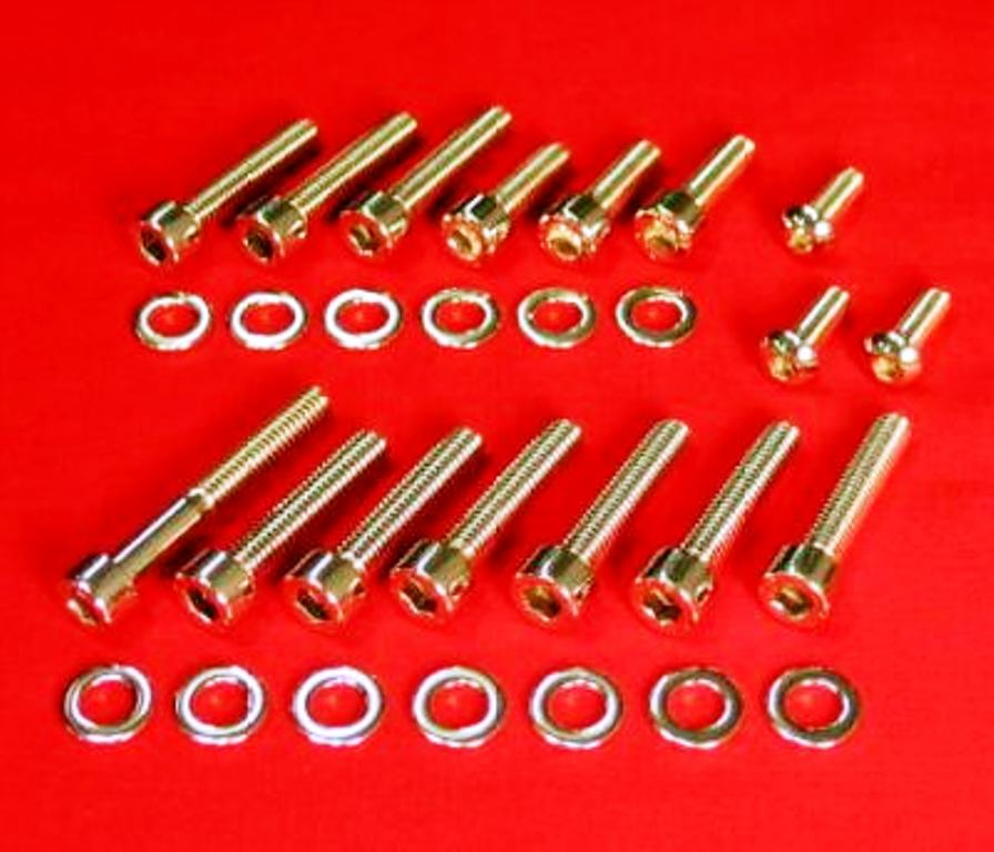 1968-73 HONDA CB350,CL350 POLISHED ALLEN CARB KIT