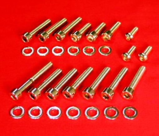 1971-78 HONDA CB500 CB550 POLISHED ALLEN CARB KIT