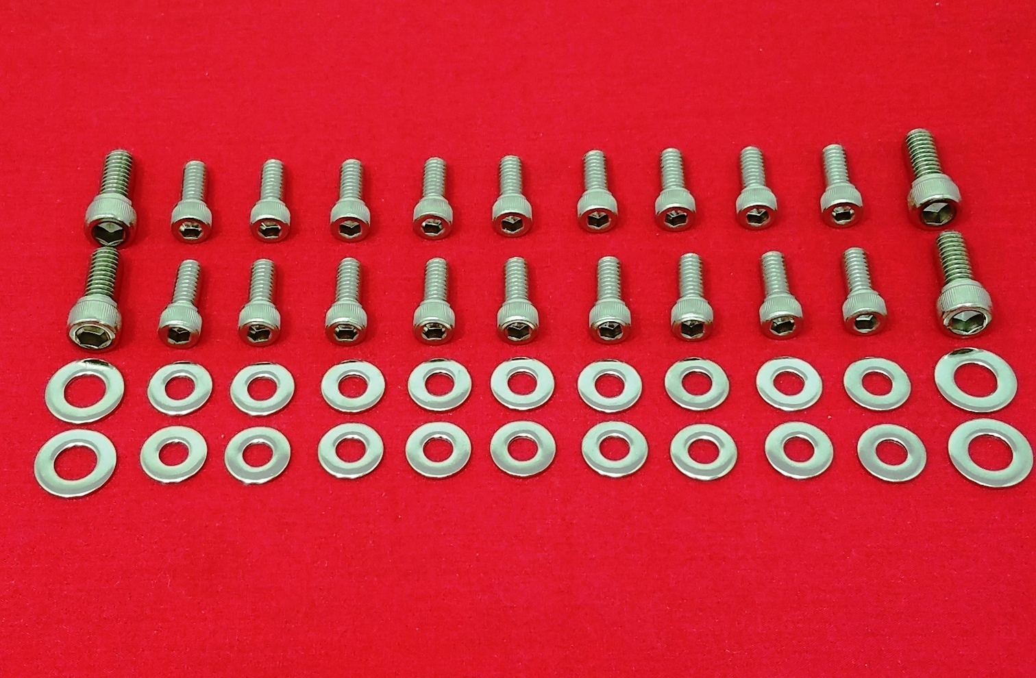 SBF SMALL BLOCK FORD 289 302 5 0L 351W Stainless Steel Oil Pan Bolt Kit